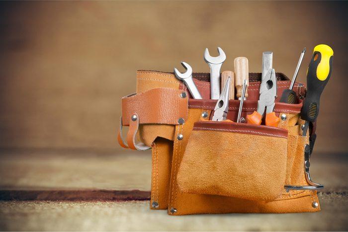 Munissez-vous d'une ceinture à outils