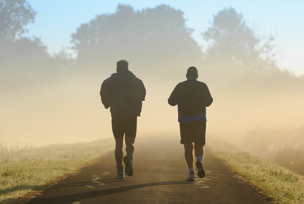 Courir à deux peut être plus motivant.