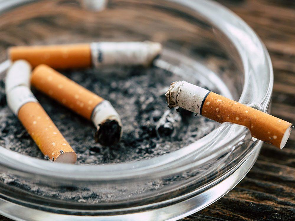Arrêter de fumer: la cigarette en chiffres.