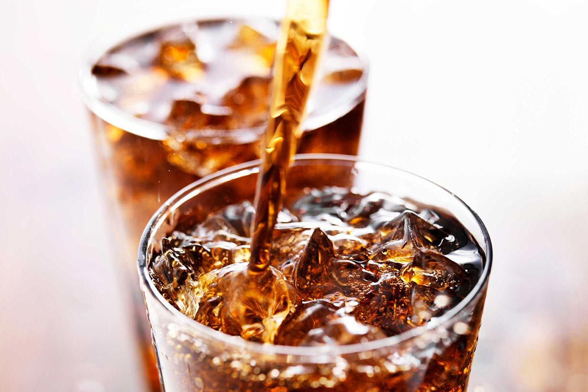 Corps humain : évitez de boire du soda.