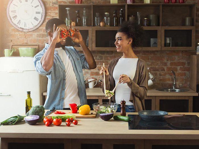 Conservez la fraicheur dans la maison en cuisinant sans four.