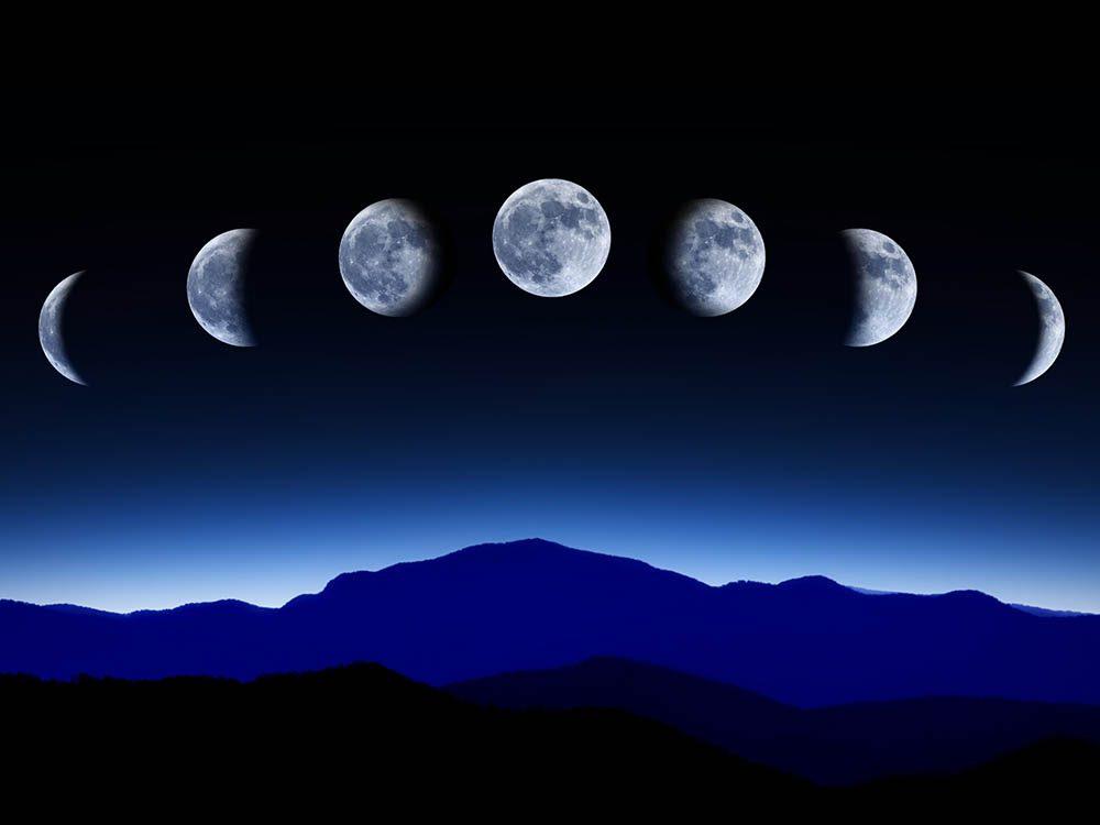 La lune n'a qu'une face visible.