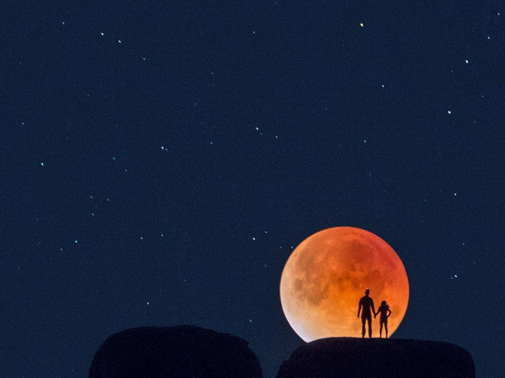l'impact géant sur la lune reste encore un mystère.