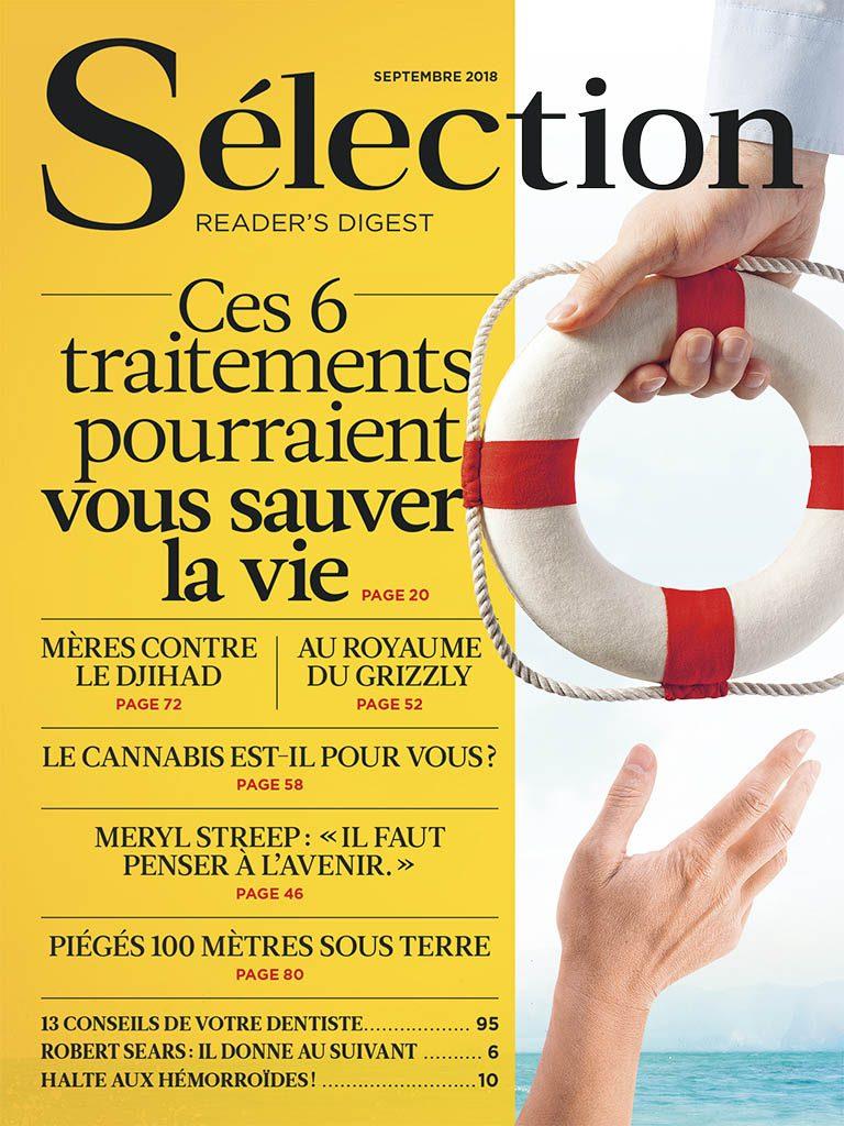 Magazine Sélection du mois de septembre.