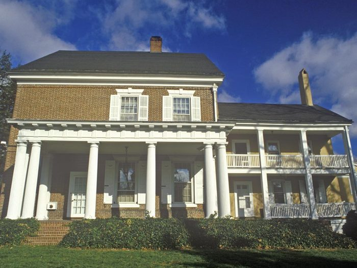 Maison hantée: visitez Woodburn Mansion.