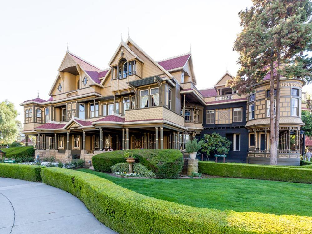 Maison hantée: visitez The Winchester Mystery House.
