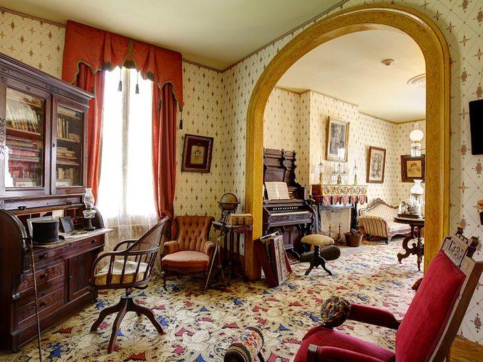 Maison hantée: visitez Whaley House.