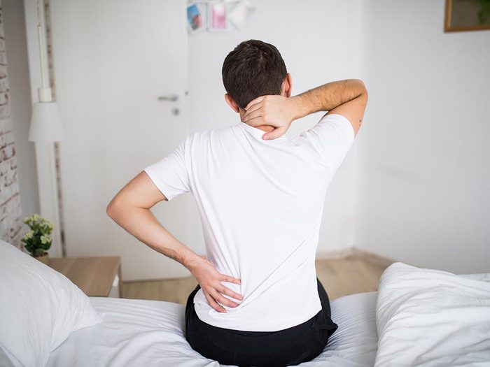 Les fractures non détectées peuvent causer un mal de dos.