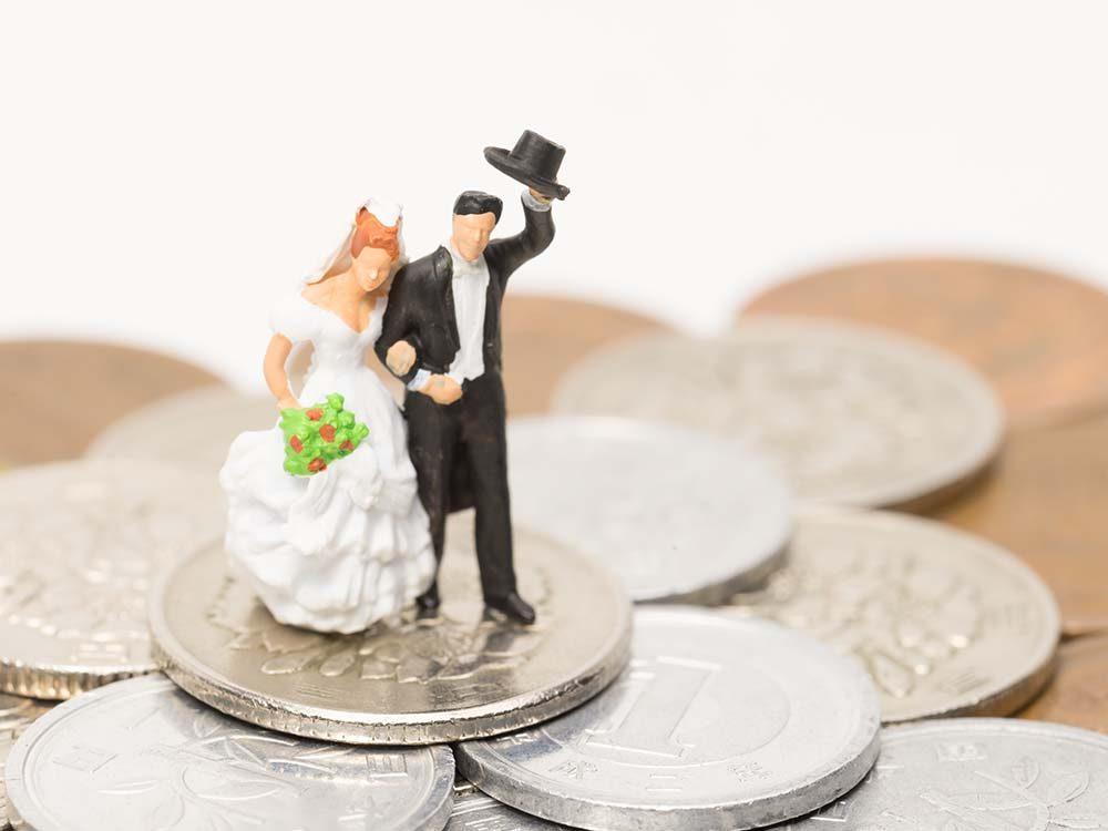 Pour un mariage réussi, n'oubliez pas la question du budget.