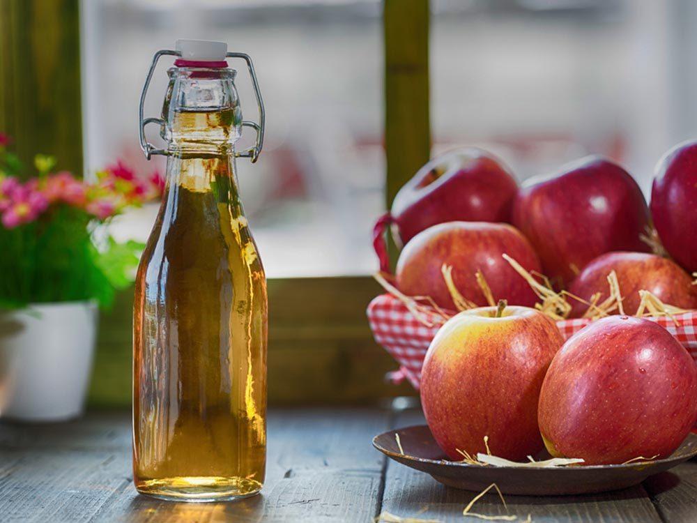 Mauvaise haleine: consommez du vinaigre de cidre.