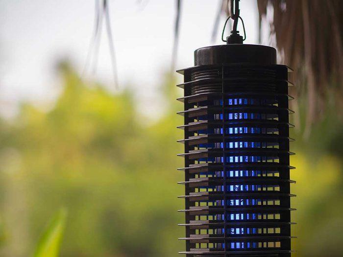 Les moustiques ne tomberont pas dans les pièges émetteurs de CO2.