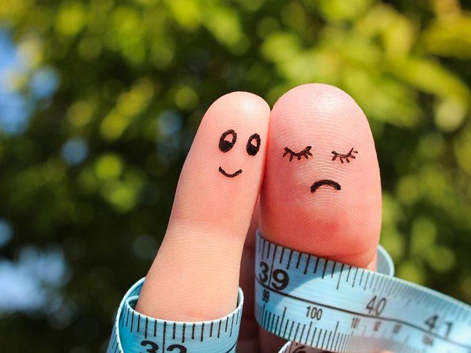 Maigrir fait perdre du poids au conjoint.