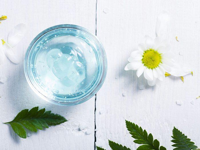 Pour soulager les piqures d'insectes, conservez vos lotions et gel au réfrigérateur.