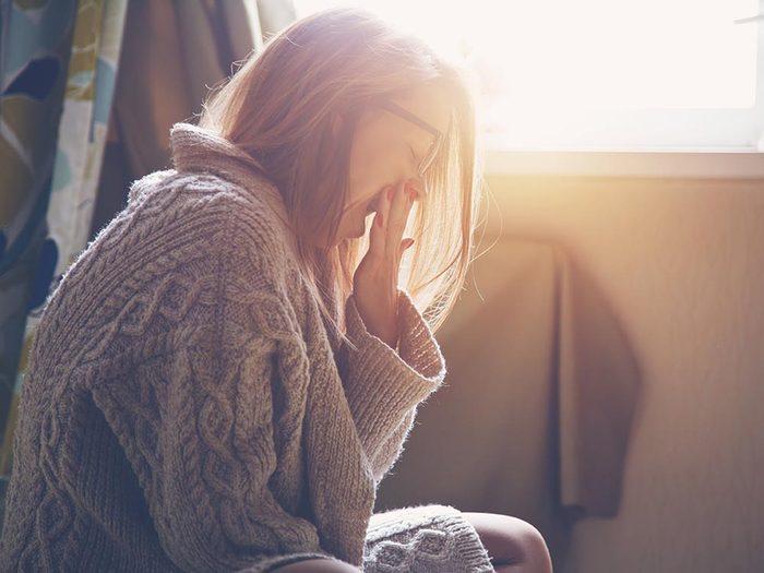 Symptômes du prédiabète: manque de sommeil.