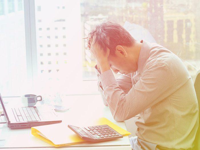 Sexe: les hommes ne veulent pas faire l'amour car ils sont stressés par leur travail.