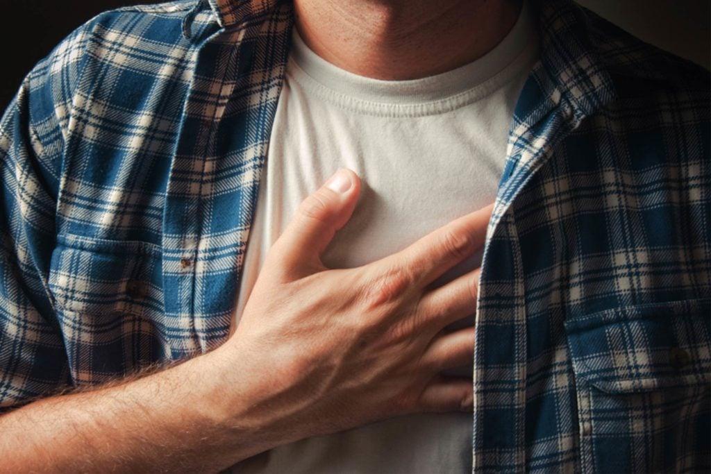 Toujours fatigué à cause d'une insuffisance cardiaque.