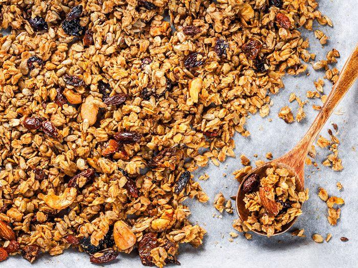Parmi les vertus des noix, on aime leurs apports énergétique.