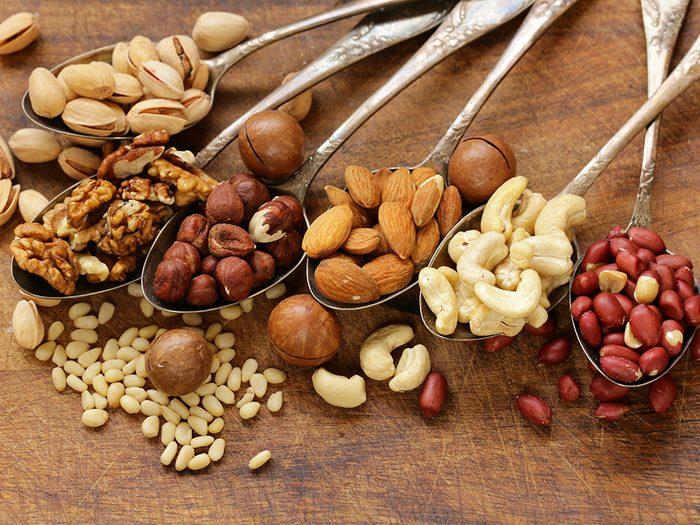 L'une des vertus des noix est la réduction des risques de diabète.