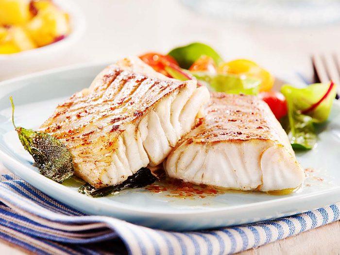 Pour une meilleure vision, mangez du poisson.