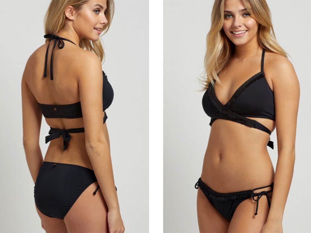 Bikinis: optez pour un classique noir.