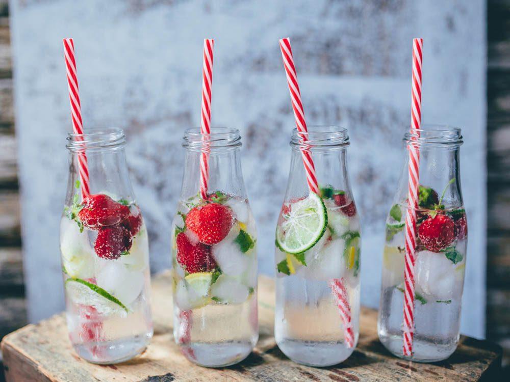 Boire plus d'eau améliorera votre humeur.