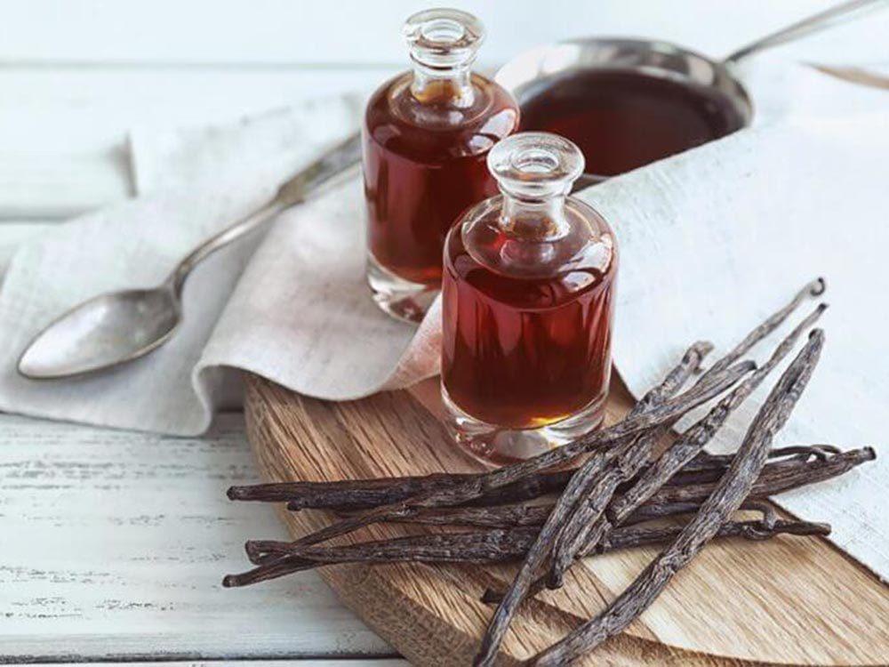 Pour soulager les brûlures, utilisez de la vanille.