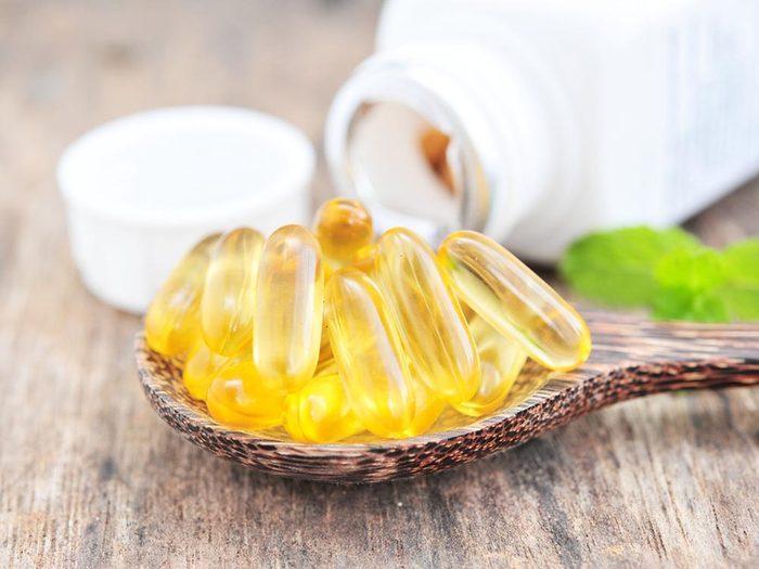 Favorisez la guérison des brûlures avec de la vitamine C.