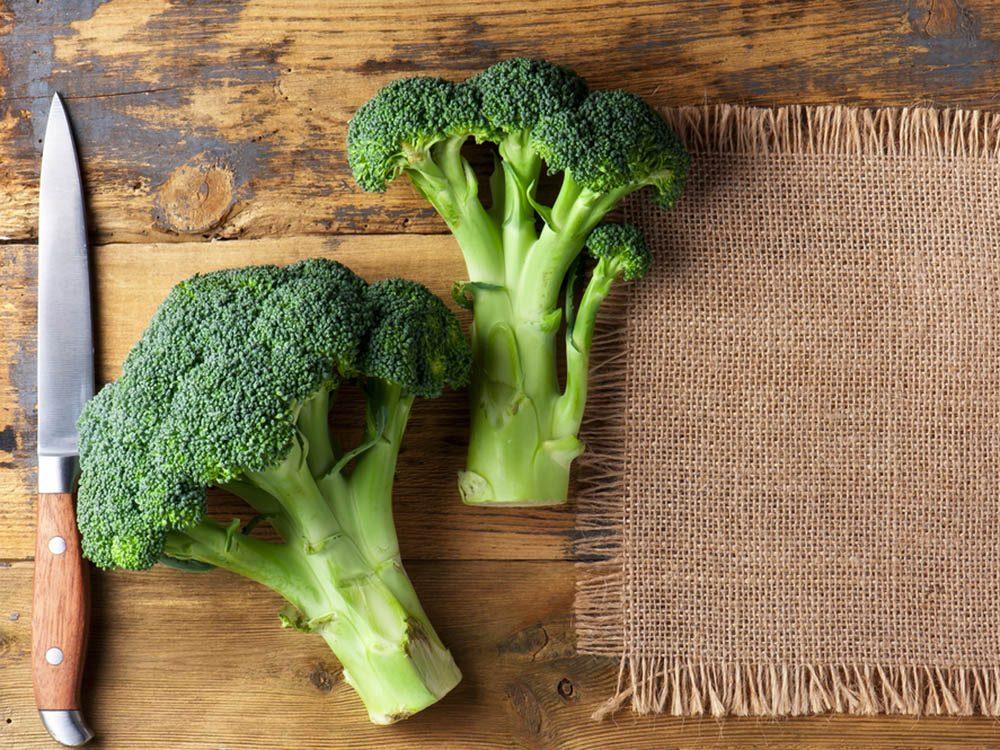 Prévenir le cancer par la consommation de brocoli.