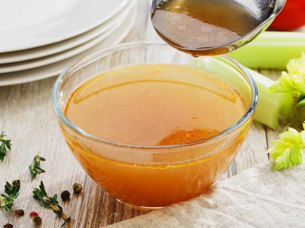 Pour cuisiner rapidement, agrémentez vos bouillons déshydratés avec du vin ou du cidre.