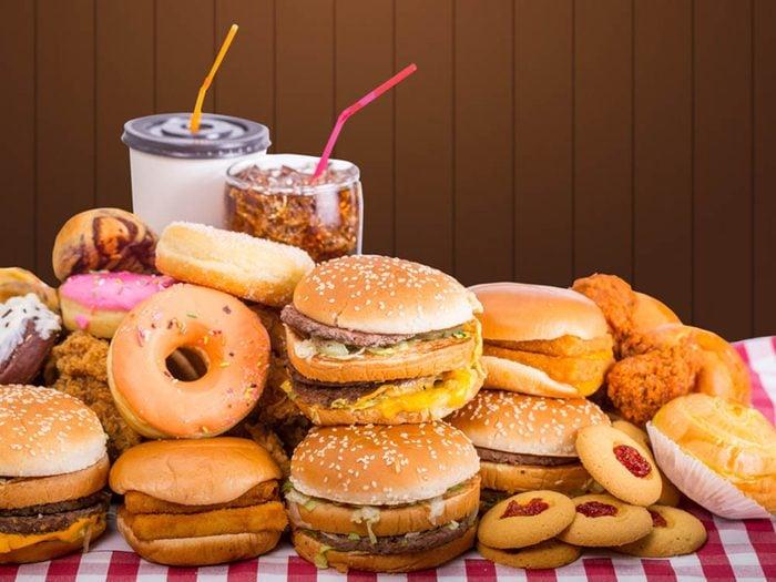 Désir sexuel: évitez les repas trop lourds pour ne pas baisser votre libido.
