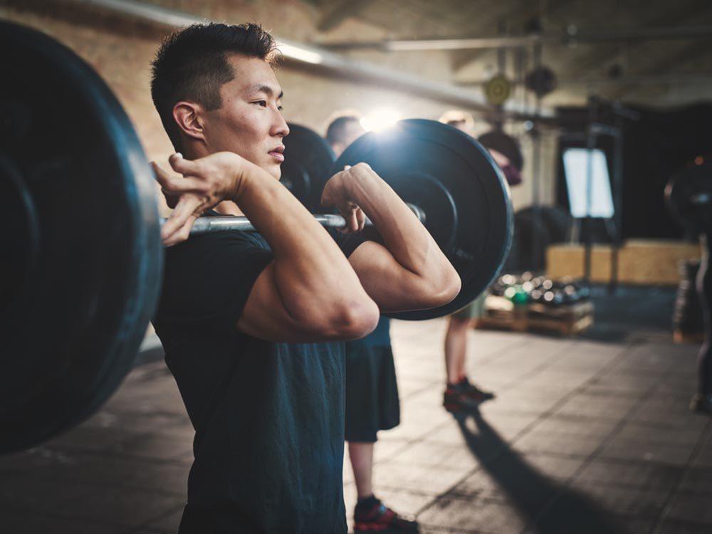 Evitez d'engraisser en travaillant tout le corps à chaque séance de sport.