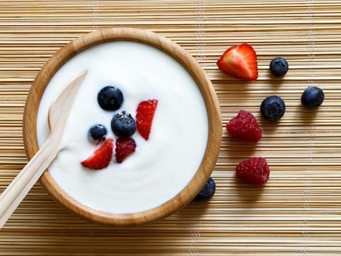 Si vous souffrez de fatigue et pour faire le plein d'énergie, optez pour les aliments à faible charge glycémique.