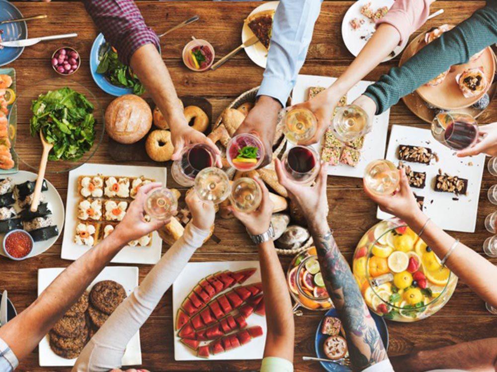Évitez la fatigue avec une alimentation riche et variée.