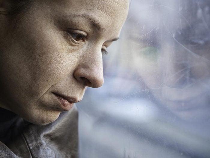 La fatigue peut provenir d'un problème plus profond, comme la dépression.
