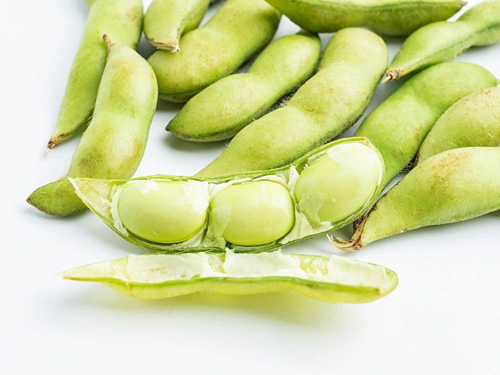Le soja fait partie des faux aliments santé.