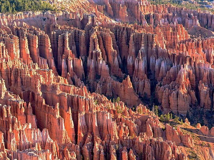 Formation rocheuse: Hoodoos en Utah détient le plus grand nombre de «cheminées de fées» au monde.