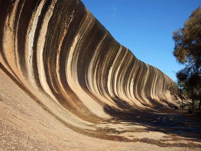 Formation rocheuse à ne pas manquer: Wave Rock.