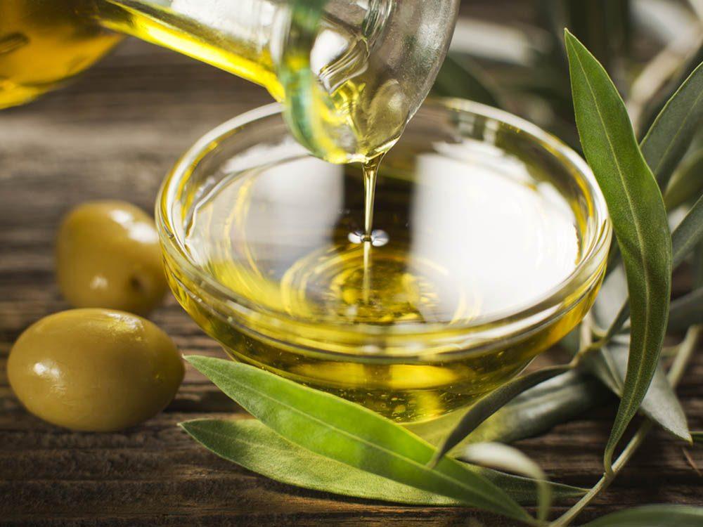 Si vous souffrez de la goutte, favorisez l'huile d'olive.