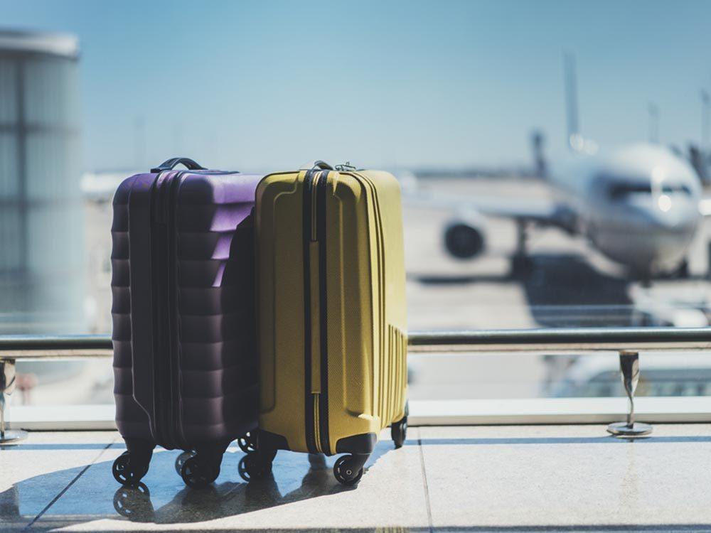 Histoire de malfaiteurs stupides: vol de bagage.