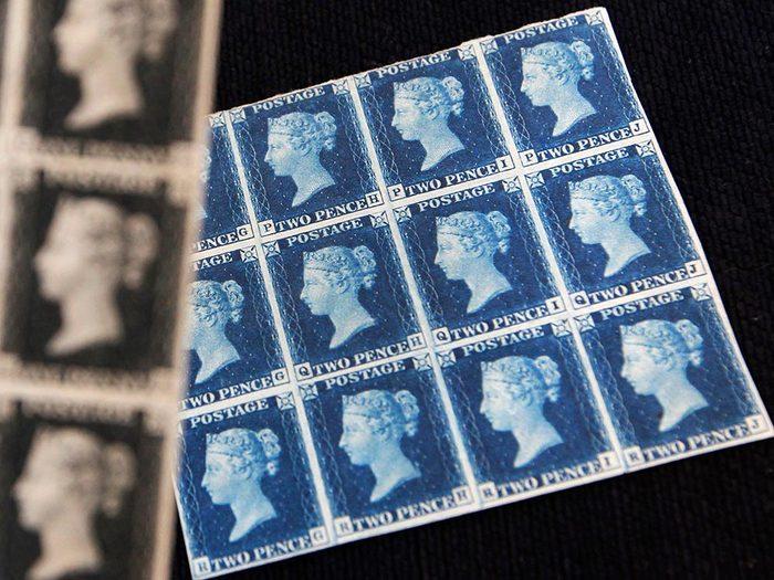 Métiers royaux: Gardien de la collection de timbres royale.
