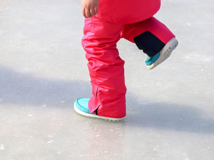 Mystères de la science: pourquoi la glace est-elle glissante?