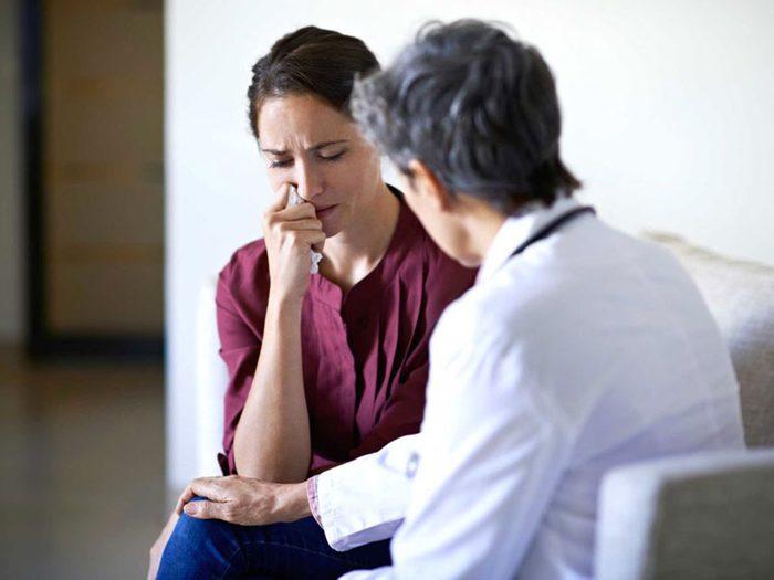 Mythe: votre médecin ne comprend pas votre peur du cancer.