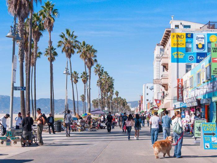 Profitez des plages de Californie.