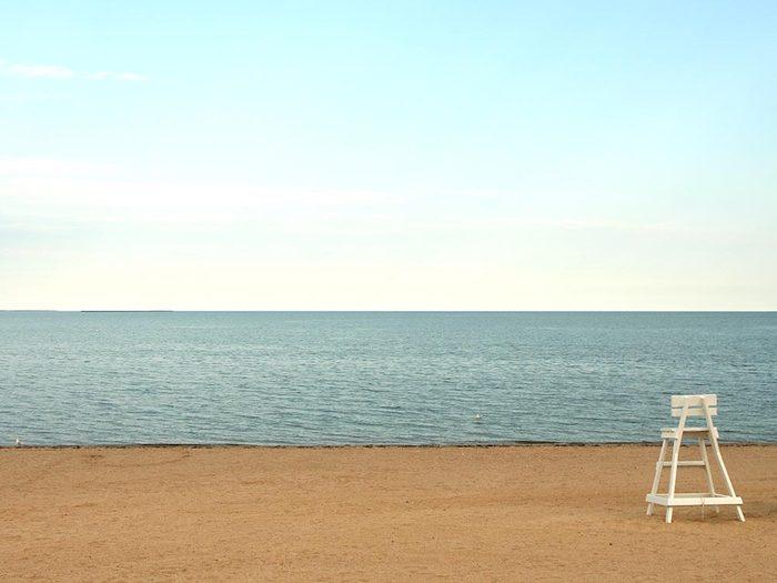 Détendez vous sur les plages du Connecticut.