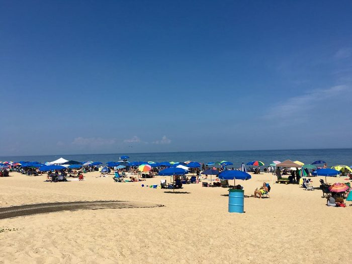 Profitez des plages du Delaware.