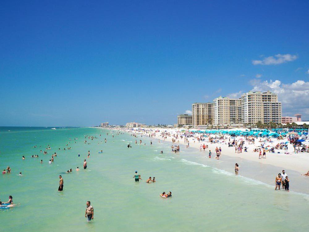 Essayez les plages de Floride.