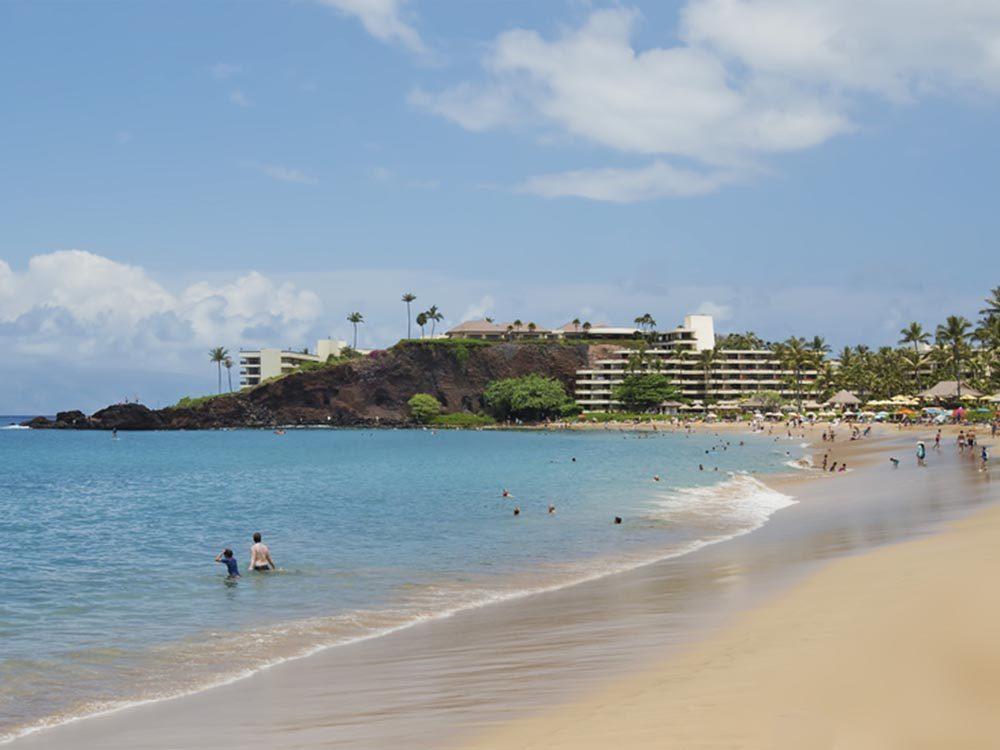 Profitez des plages de Hawaï.