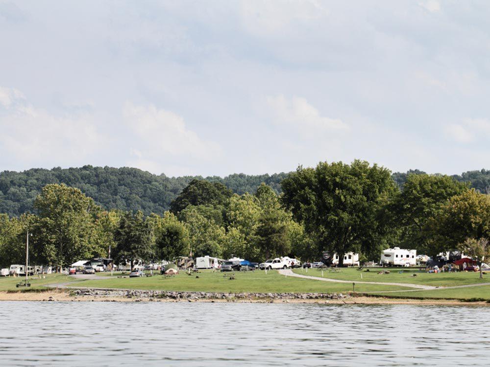 Détendez vous sur les plages du Kentucky.