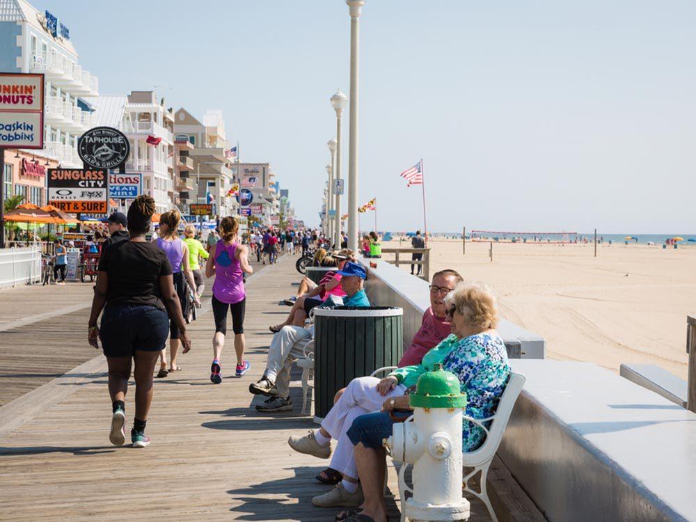 Essayez les plages du Maryland.