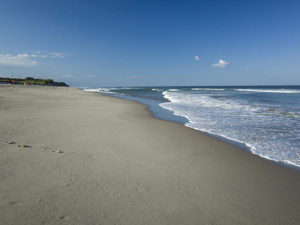 Profitez des plages du Massachusetts.